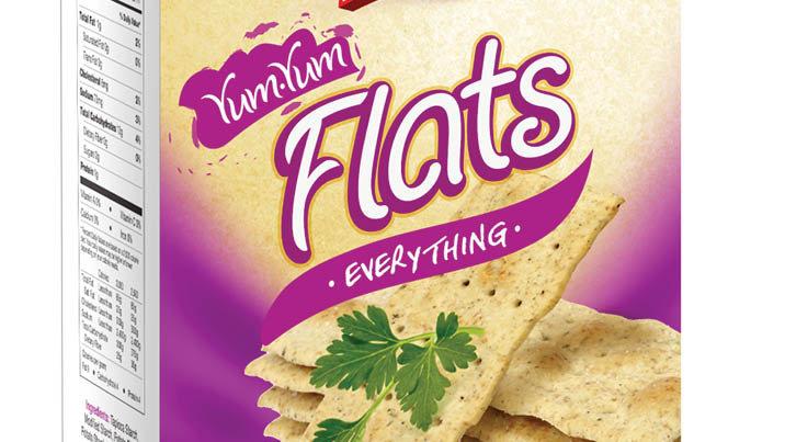 Lieber's Flat Crackers (Everything) 7.05 oz.