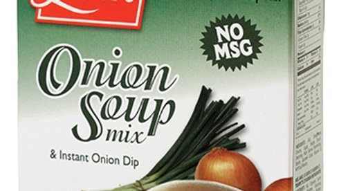 Lieber's Onion Soup & Dip Mix (No Msg) 2.75 oz.