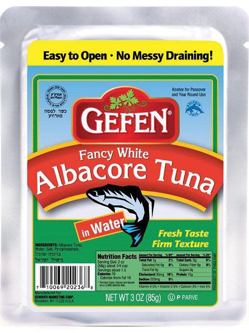 Gefen 3 Oz Fancy White Tuna Water Pouch