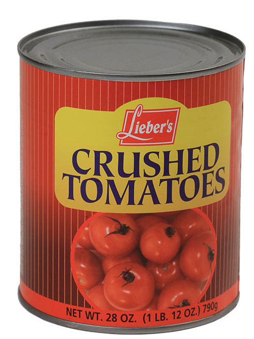 Lieber's Crushed Tomatoes 28 oz.