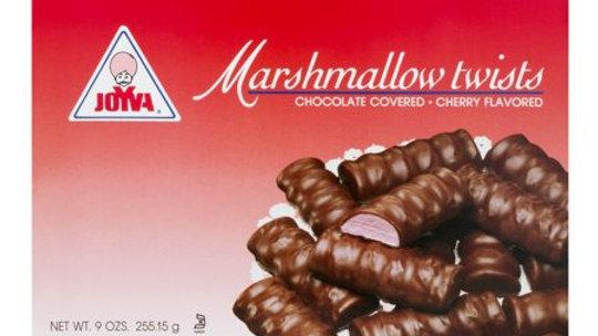 Joyva Cherry Marshmallow Twists 9 Oz
