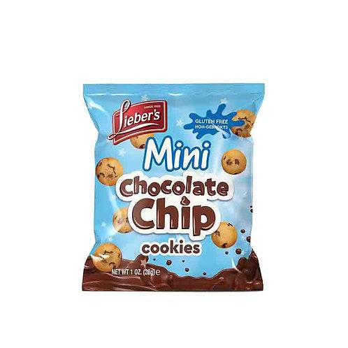 Lieber's Mini Choc Chip Cookies 1 oz