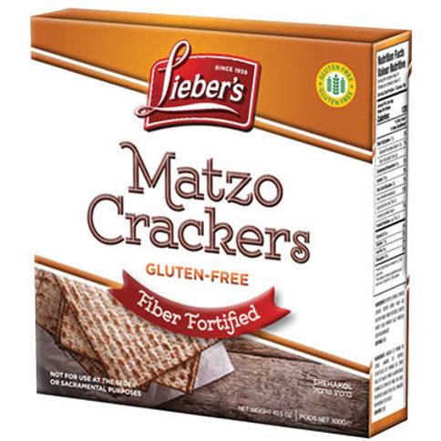 Lieber's Gluten Free Matzo Fortified  Fiber 10.5 oz.