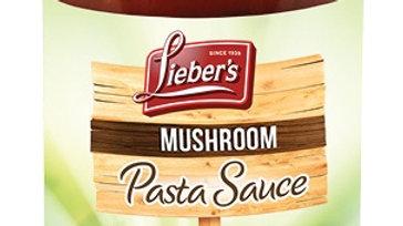 Lieber's Mushroom  Pasta  Sauce 24 oz.