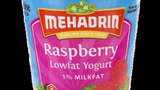 Mehadrin  Raspberry  Yogurt 7oz