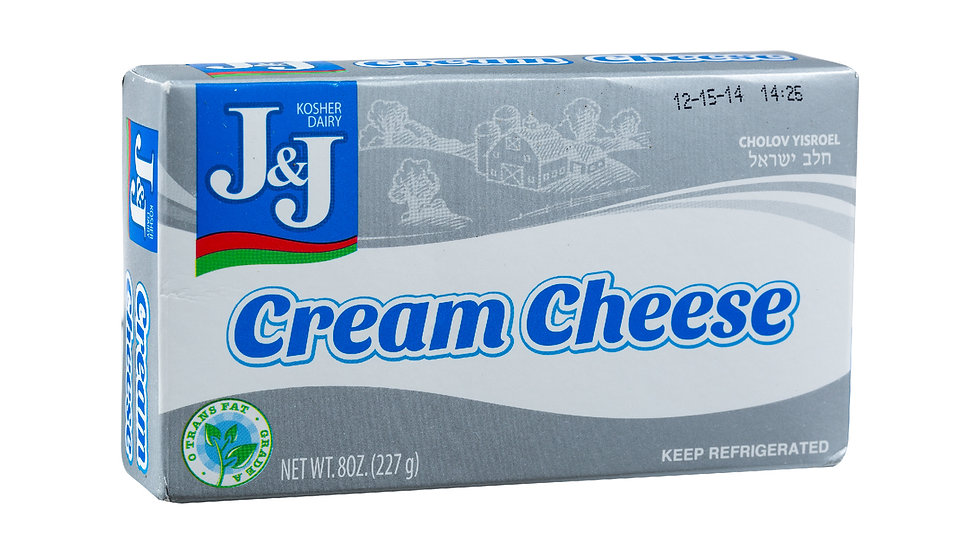 J&J  Bar Cream Cheese  8oz