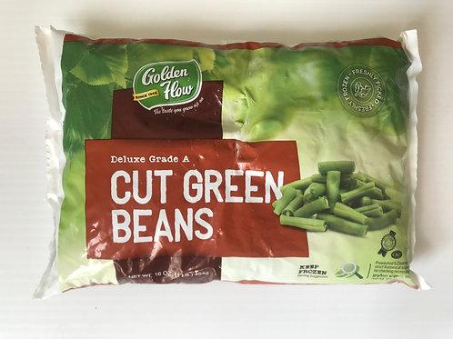 Golden Flow Cut Green Beans 16oz