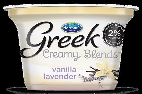 "Norman's Creamy Blends 2% ""Vanila Lavender"" 5.3 Oz."
