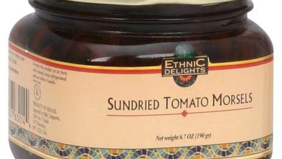 Ethnic Delights Sun Dried Tomatoe Morsel Kitniot 6.7 Oz