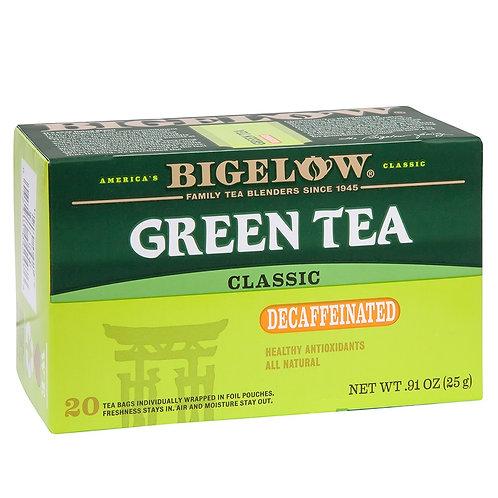 Bigelow Decaff Green Tea 20 Ct