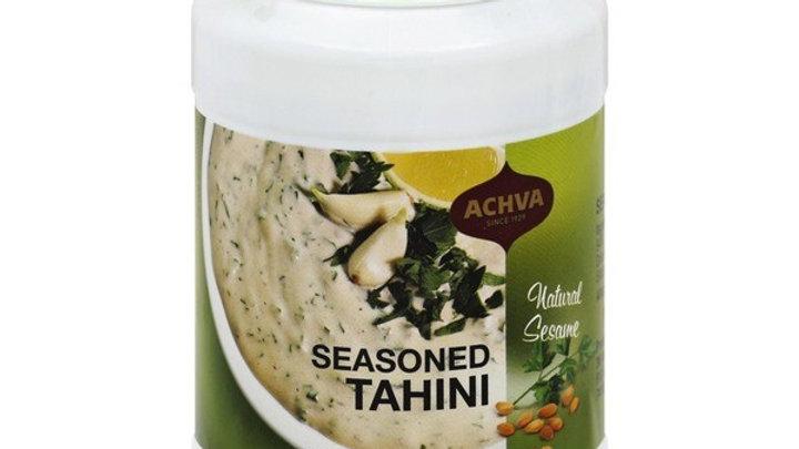Achva Tahini Seasoned 17.6 oz