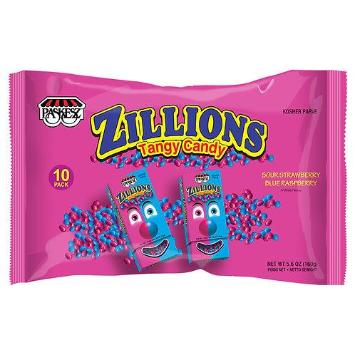 Paskesz Zillions Tangy Straw/Rasp 5.6oz