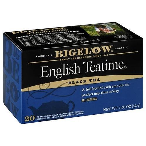 Bigelow English Teatime Tea 20 Ct