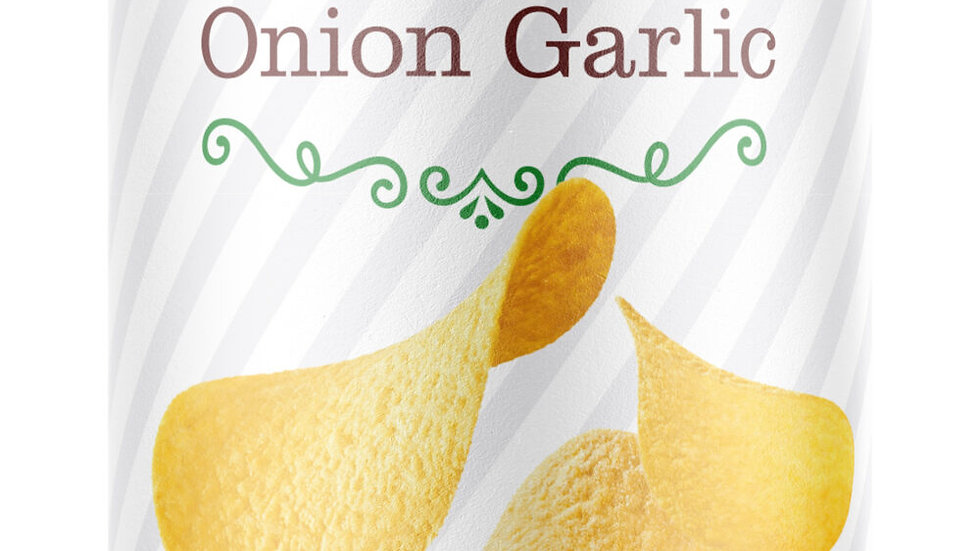 Absolutely Onion & Garlic Stacked Potato Chips