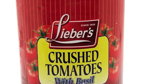Lieber's Crushed Tomatoes with Basil 28 oz.