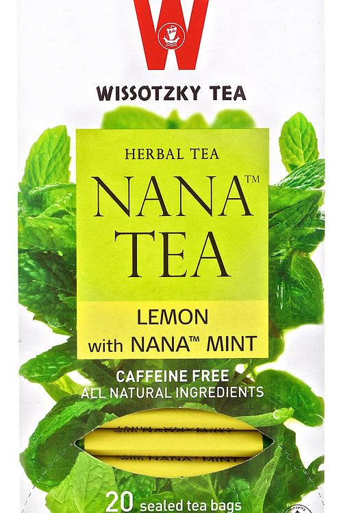 Wissotzky Nana Lemon With Mint