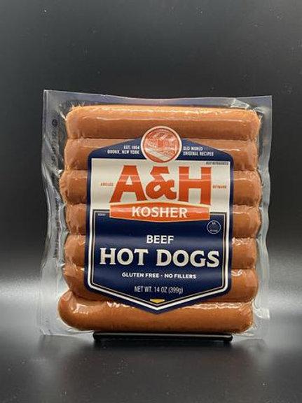 A&H Beef Frankfurters 14oz