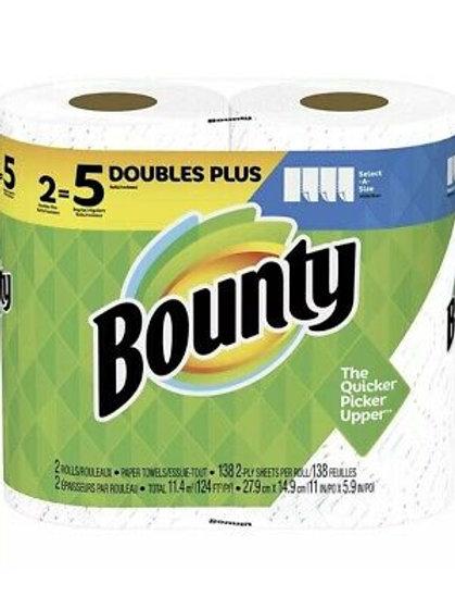 Bounty Select-a-Size 138sh 2pk