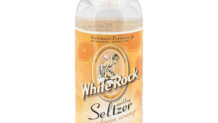 White Rock Seltzer Mandarin Orange 1 Lt