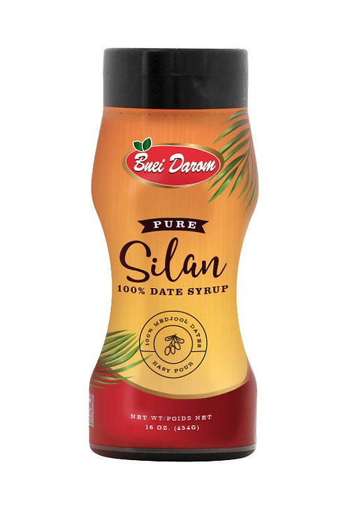Bnei Darom Silan Date Syrup - Squeeze Bottle 16 oz.