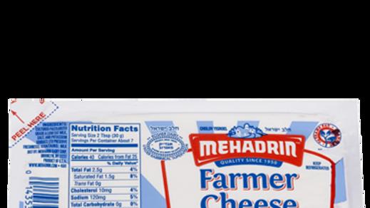 Mehadrin  Midget Farmer Cheese  7.5oz
