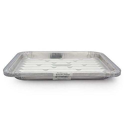 Aluminum Grill Pan 4 Pk