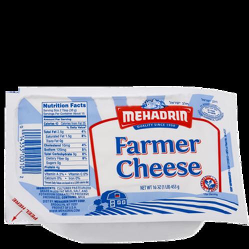 Mehadrin  Farmer Cheese  16oz