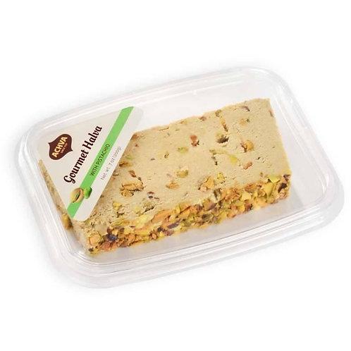 Achva Halva Gourmet Pistachio Slice 7 oz