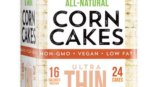 Galil Ultra Thin Corn Cakes Mixed Grains 3.5 oz