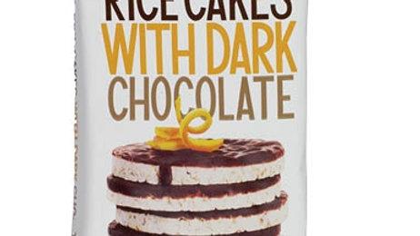 Lieber's Dark Choc Rice Cakes 3.1 oz.
