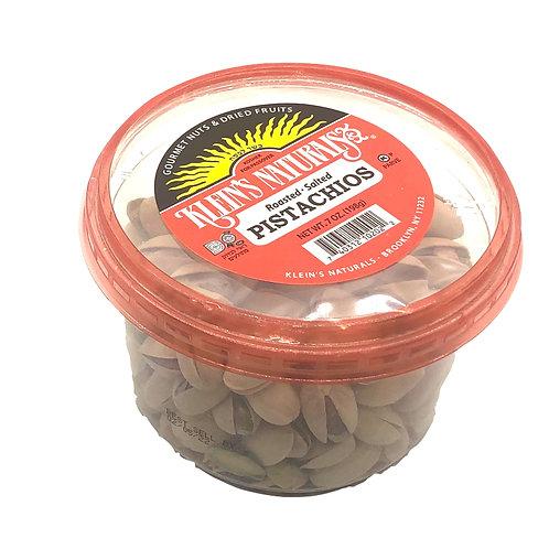 Klein's Pistachios Roasted Salted 7oz