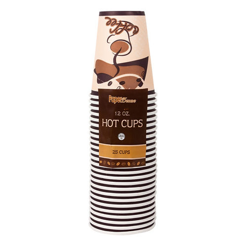 Hot Cups 12oz 25ct