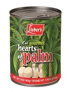 Lieber's Cut Hearts of Palms 14 oz.