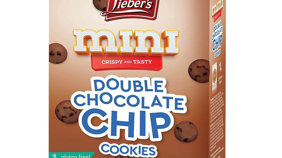 Lieber's Mini Double Chocolate Chip Cookies 5.2 oz.