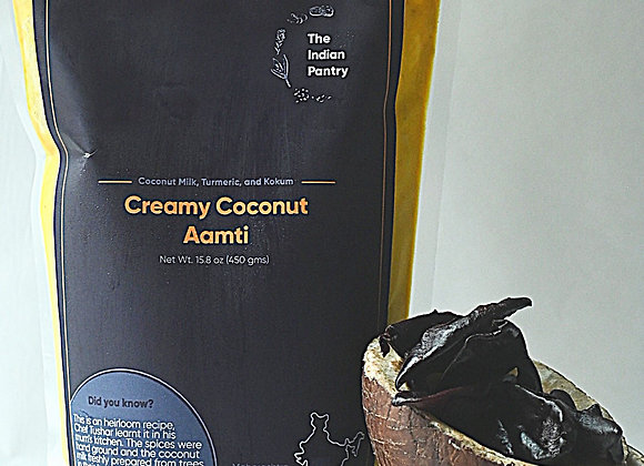 Creamy Coconut Aamti | By The Indian Pantry