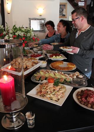 Onbeperkt Tapas eten, onze eerste dag een groot succes!