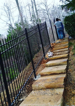 6ft Aluminum Fence