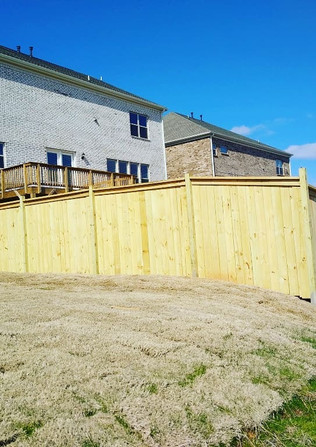 6ft Capped Privacy Fence