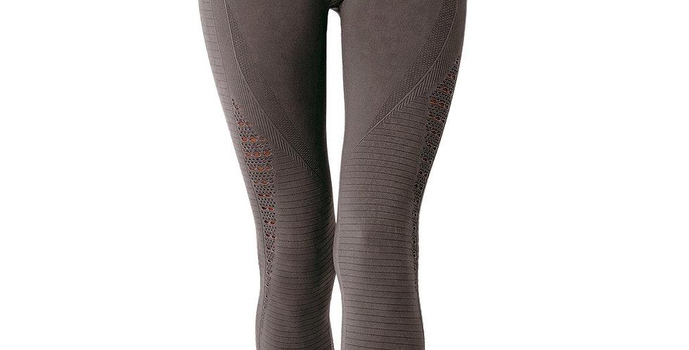 Mesh Seamless Legging- Taupe