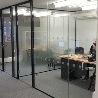 acoustic office glass company