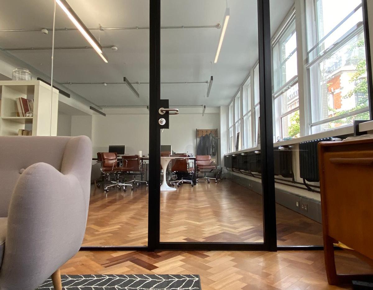 glass door london