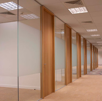 glass partitioning london