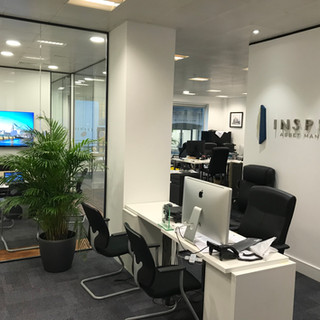 Glazed office partitioning London