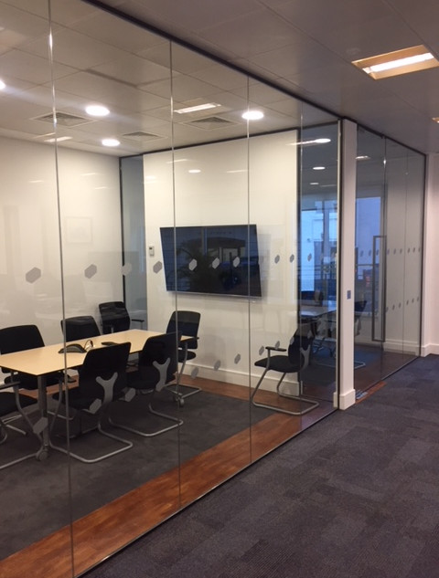 Glass partition company London
