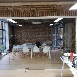 Glass office walls London