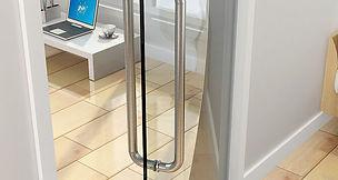 glass door ironmongery