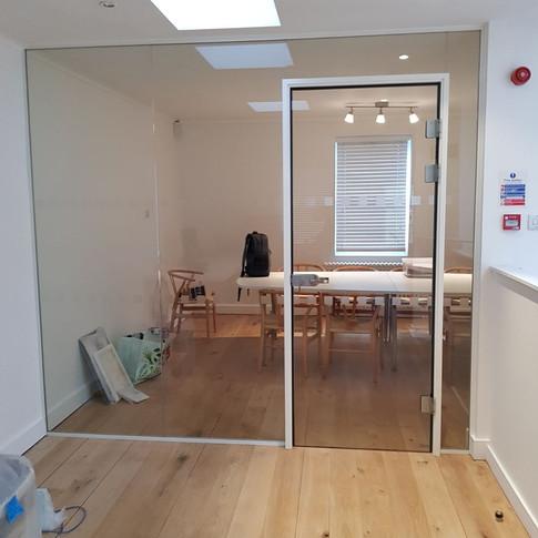 Glazed office London