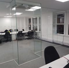 Glazed partition London