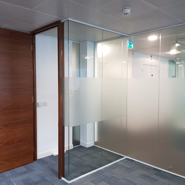 glass office interior company