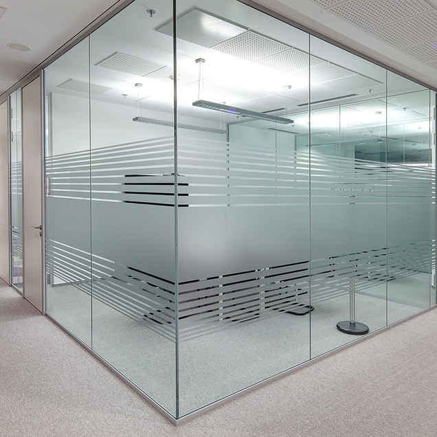 glass partitions for offices